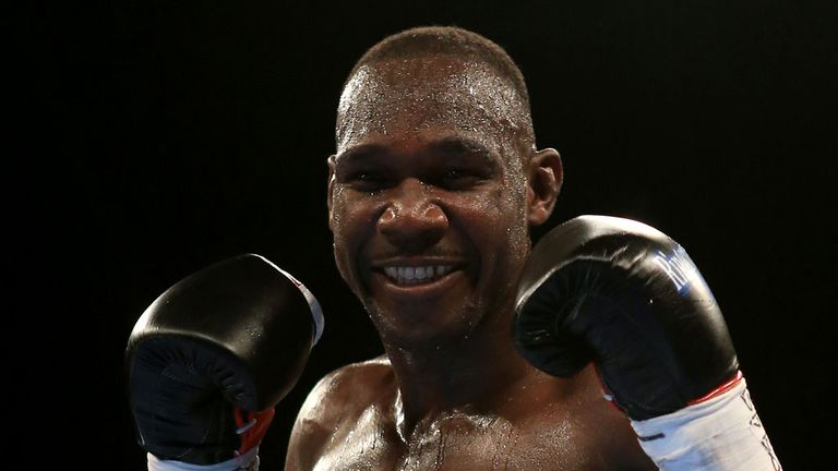 Ovill McKenzie targets world title glory this weekend