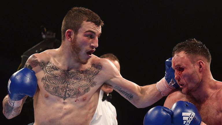 Sam Eggington believes he will become the second person to stop Frankie Gavin