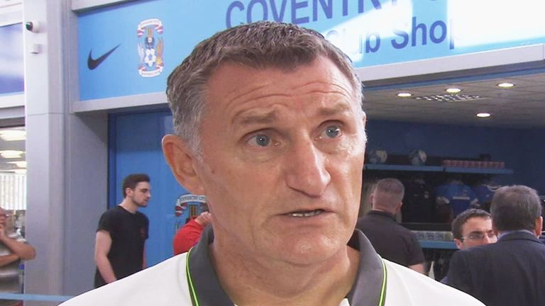 Ollie thinks Tony Mowbray is a fantastic manager.