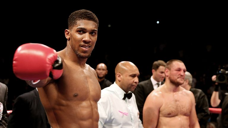 Anthony Joshua will fight for a Commonwealth title