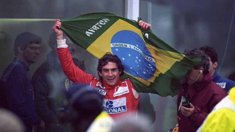 Ayrton Senna died from his injuries after crashing into the Tamburello wall while leading the San Marino Grand Prix at Imola