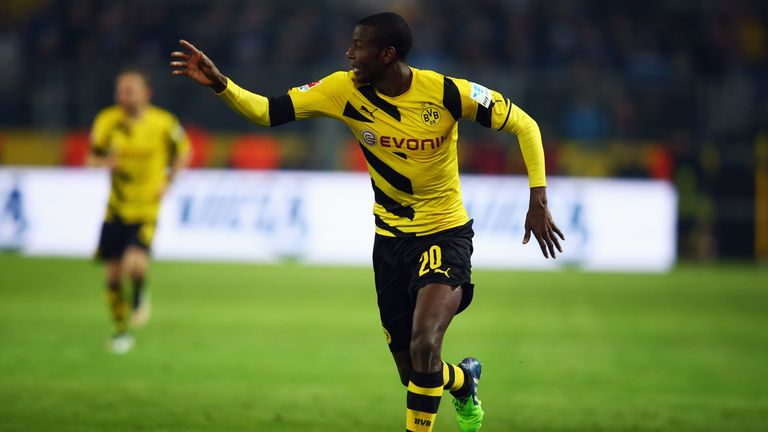 Adrian Ramos scored the winning goal in Dortmund's 3-2 win