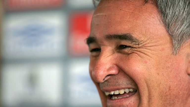 Claudio Ranieri was manager at Chelsea from 2000-2004