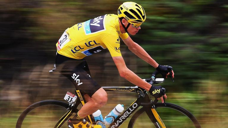The 2016 Olympic road race and time trial courses both suit Froome