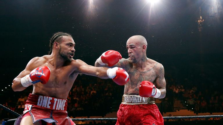 Keith Thurman battled past Luis Collazo