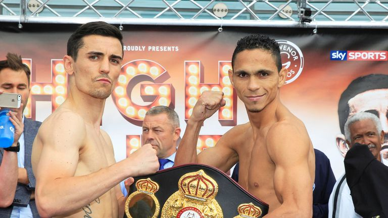 Anthony Crolla takes on Darleys Perez for the WBA title