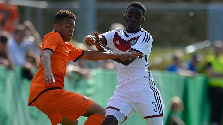 Donyell Malen (left) is a Netherlands youth international