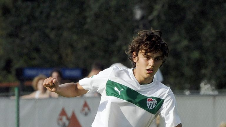 Enes Unal: Manuel Pellegrini's first signing of the summer