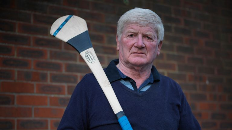Former London captain Gerry Rea marked his brother Eamonn in the 1973 All-Ireland semi-final against Limerick