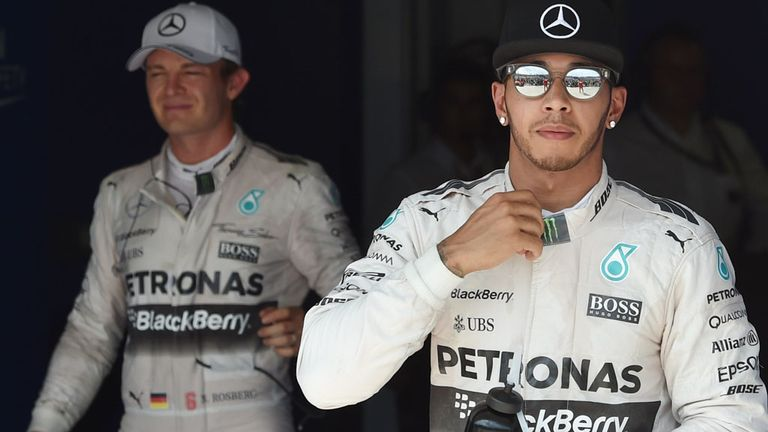 Lewis Hamilton and Nico Rosberg are finding themselves in more battles duels with rivals