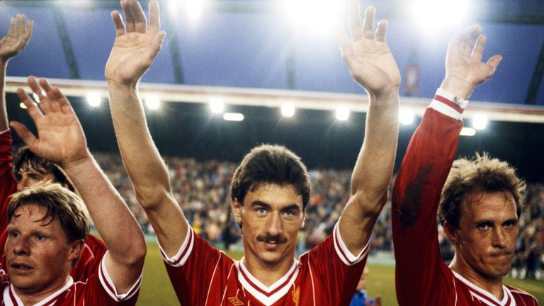 Rush and Lee played in Liverpool's famous 1984 European Cup final win over Roma