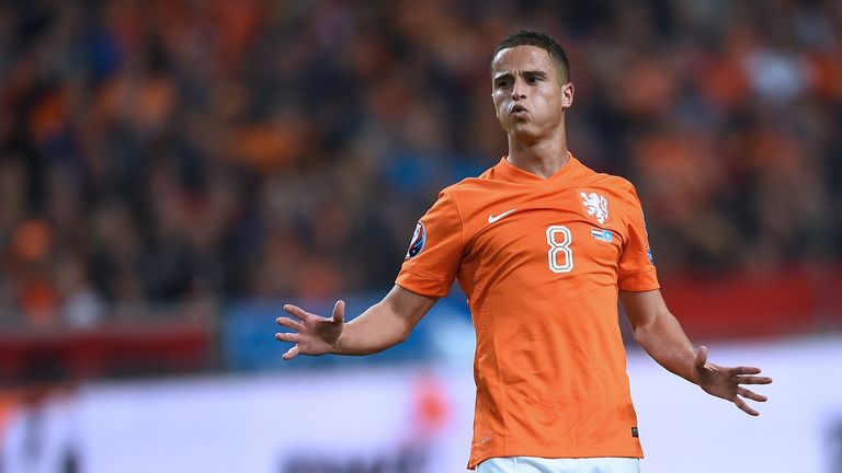 Afellay has won 50 caps for the Netherlands