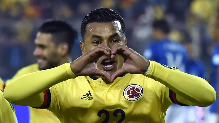 Colombia's defender Jeison Murillo was named Young Player of the Tournament at Copa America