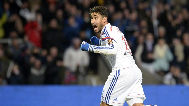 Nabil Fekir was named the best young player in Ligue 1 last season