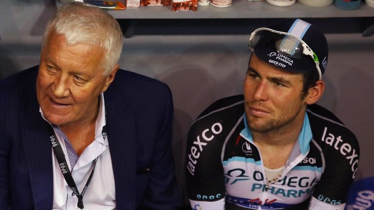 Mark Cavendish was critcised by his Etixx - Quick-Step manager, Patrick Lefevere, left