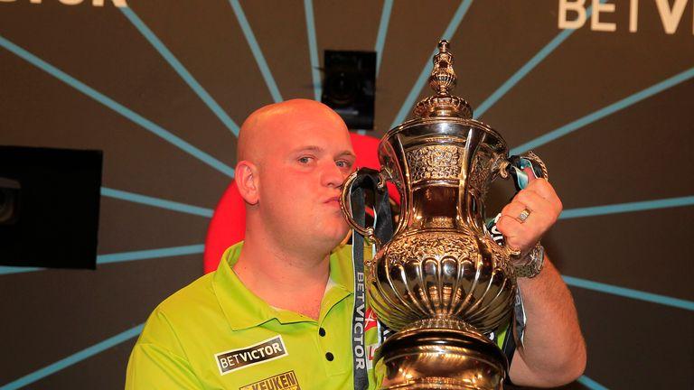 Michael van Gerwen begins the defence of his World Matchplay title against Jamie Caven