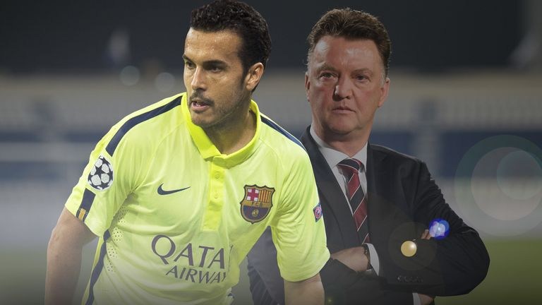 Could Pedro solve Louis van Gaal's creativity issues at Manchester United?