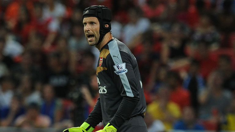 Petr Cech will face his former Chelsea team-mates just weeks after his move to Arsenal