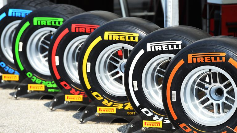 The new purple-marked ultrasoft tyre will be added to Pirelli's range next season, although won't be used in Australia, Bahrain or China