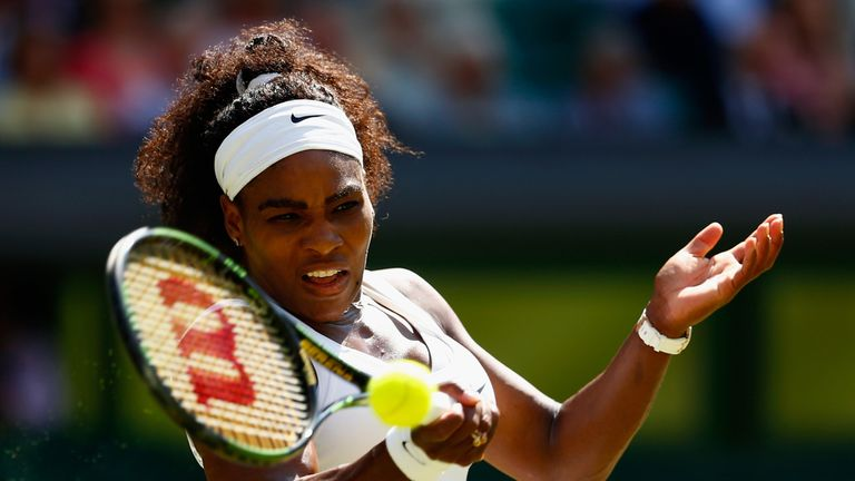 Serena Williams has revealed her insecurities on court