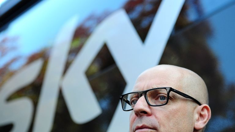 Sir Dave Brailsford, Team Principal of Team Sky, has concerns over hacking