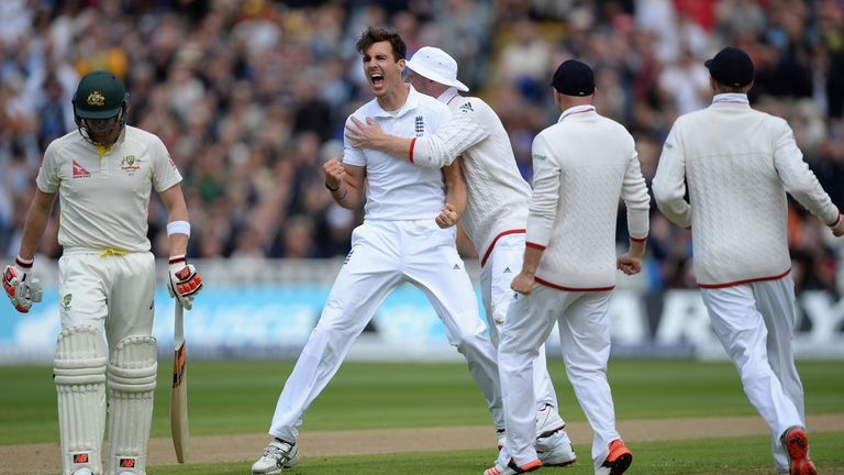 Finn returned to the England Test side for the 2015 Ashes and starred at Edgbaston