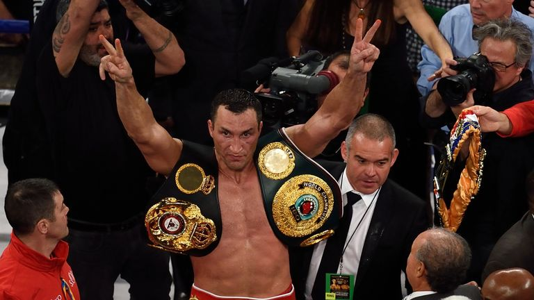 Wladimir Klitschko: Long-reigning world champion