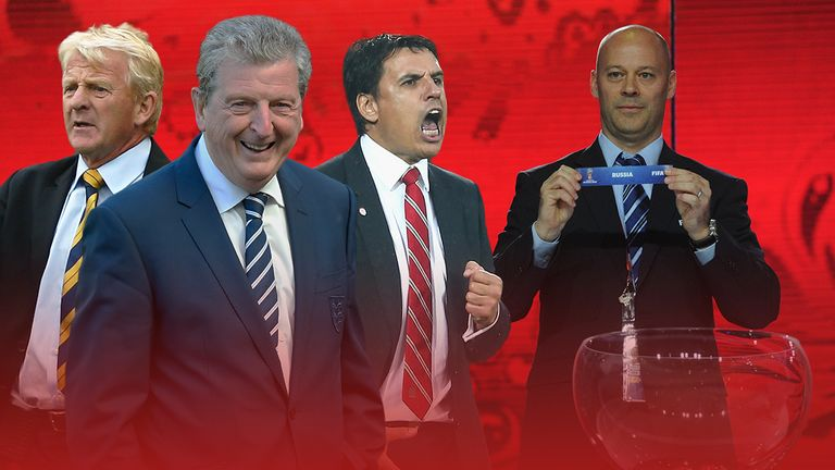 Gordon Strachan, Roy Hodgson and Chris Coleman will all be hoping for favourable draws for the 2018 World Cup qualifiers