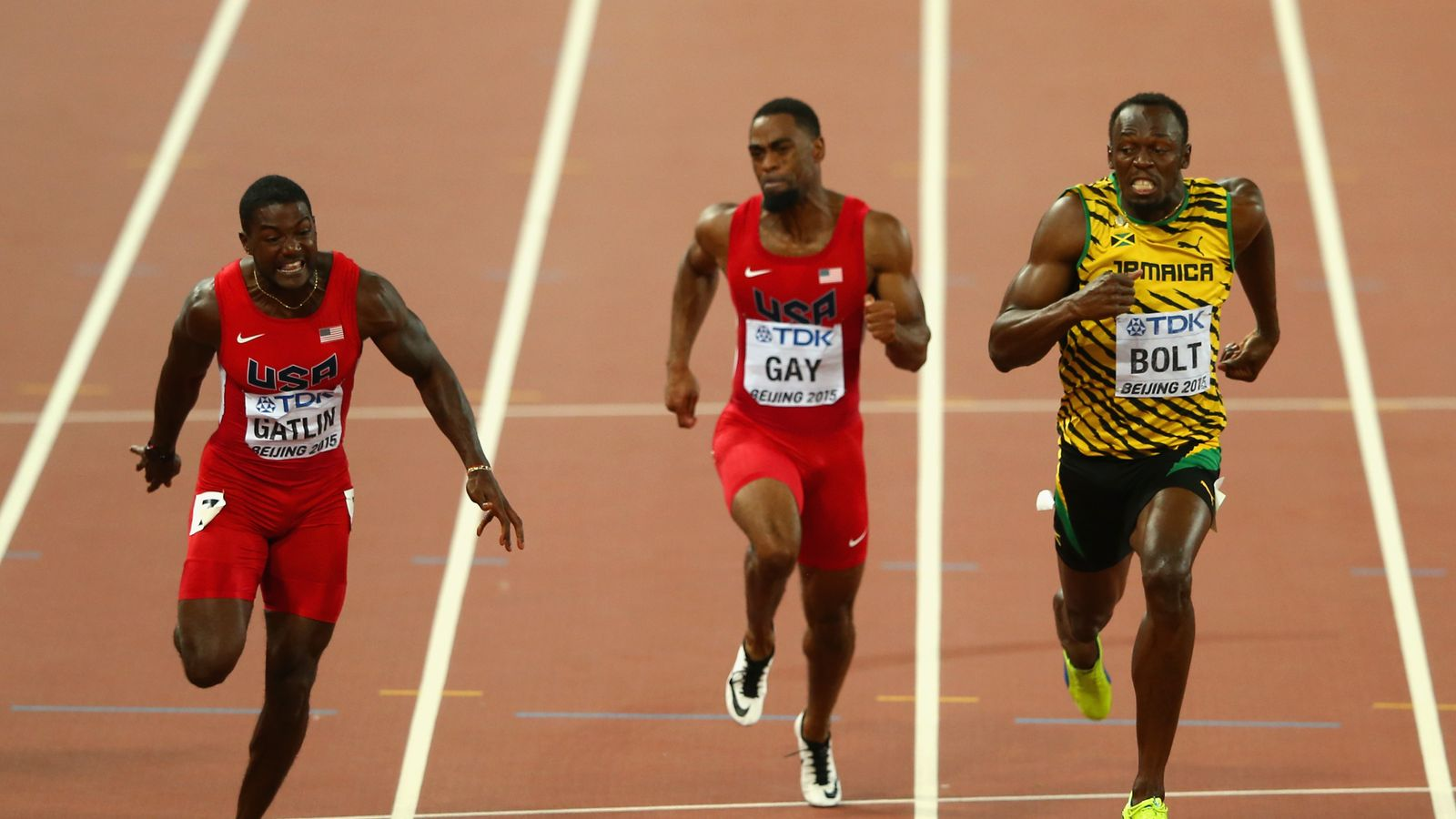 Usain Bolt claims 100m gold at World Championships | Athletics News