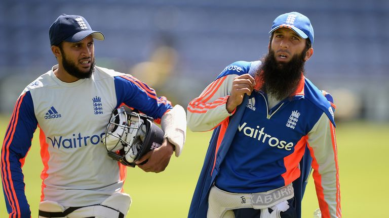 Adil Rashid and Moeen Ali are England's one-day spinners