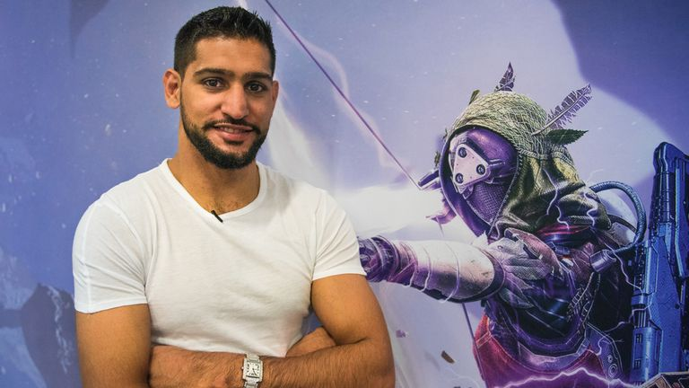 Amir Khan was speaking ahead of  the launch of Destiny: The Taken King