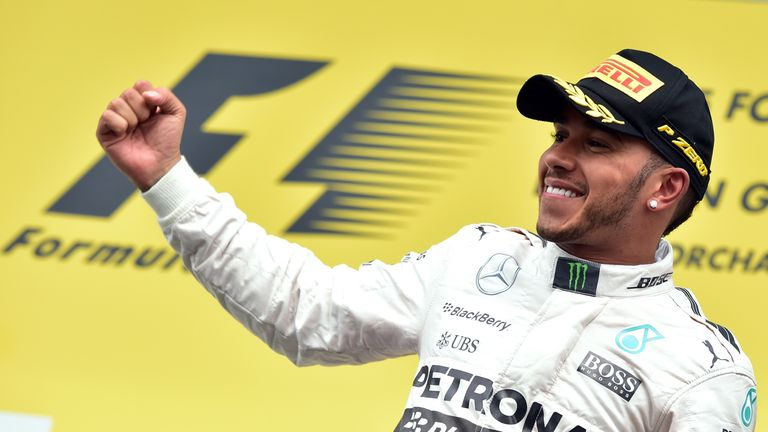 Lewis Hamilton now leads the Drivers' Championship by 28 points after victory at Spa