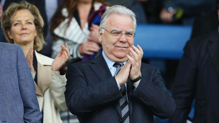 Chairman Bill Kenwright has held talks with US-led investors
