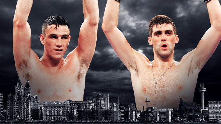 Callum Smith v Rocky Fielding will take place in their hometown of Liverpool