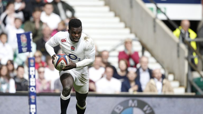 Wasps' Christian Wade has scored 22 tries in seven tournaments for England sevens