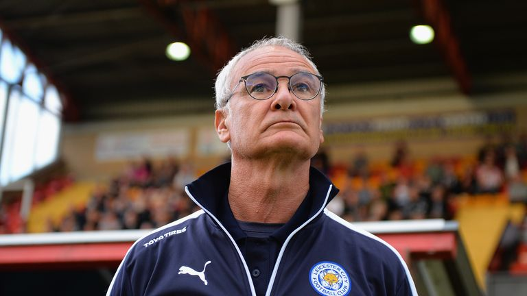 Claudio Ranieri will reward his Leicester squad with pizza if they keep a clean sheet