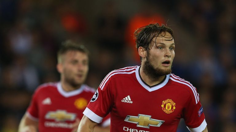 Daley Blind also played under Louis Van Gaal with the Netherlands