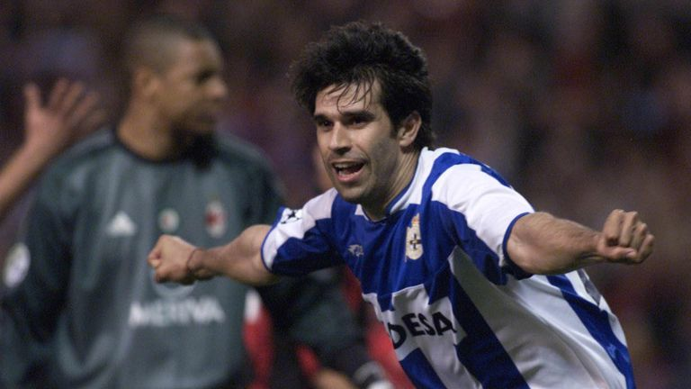 Valeron helped Deportivo compete consistently in the Champions League