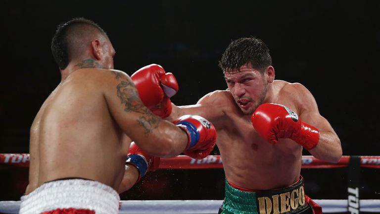 Diego Magdaleno (right) is in bullish mood ahead of world title bout in Manchester