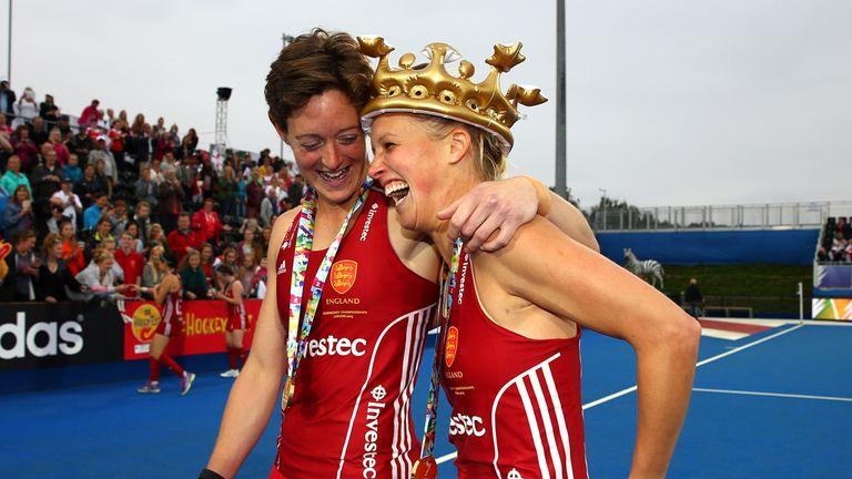 England won EuroHockey gold in 2015