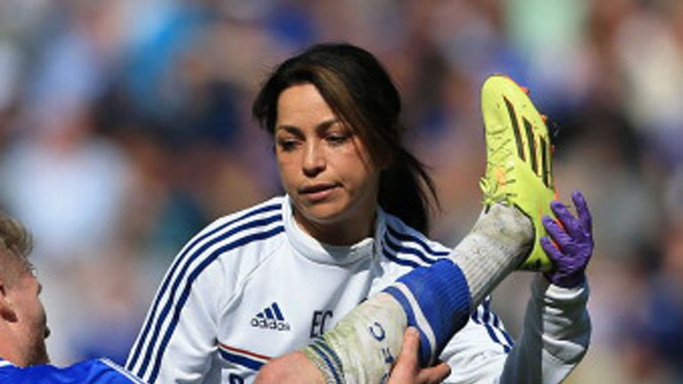 Carneiro will continue in her role as first-team doctor, but she will only work at the club's training ground in Cobham