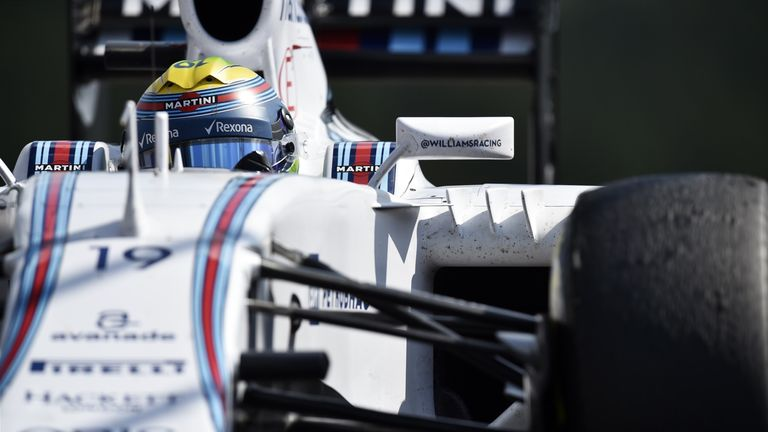 Felipe Massa recovered from ninth at the end of the opening lap in Belgium to finish sixth