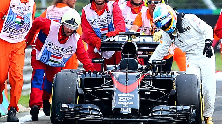 McLaren scored a double points finish in Hungary, but the weekend wasn't completely free of setbacks
