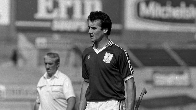 Brendan Lynskey won back-to-back All-Irelands with Galway in the 1980s
