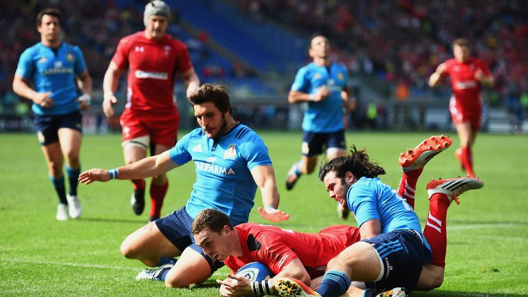 Tries like George North's against Italy could eventually be worth six points if the new rules catch on