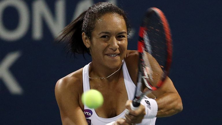 Heather Watson will be aiming to progress beyond first round