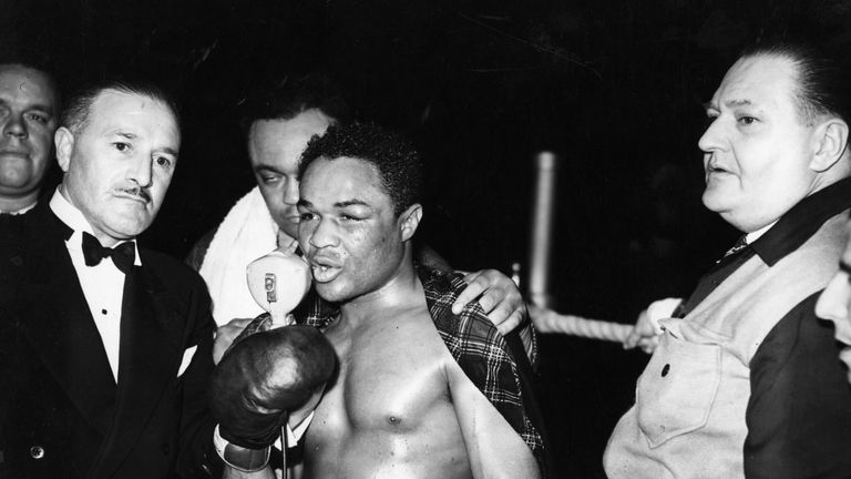 Henry Armstrong held three of the eight weight division world titles, Jim Watt reminded us