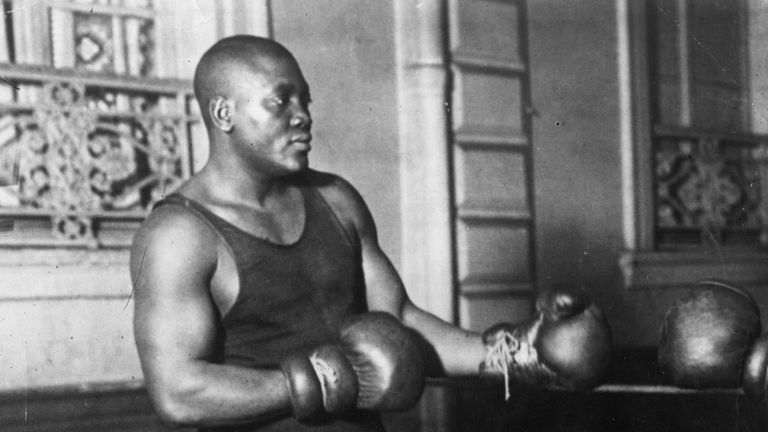Jack Johnson was the 'original Muhammad Ali', according to Johnny Nelson