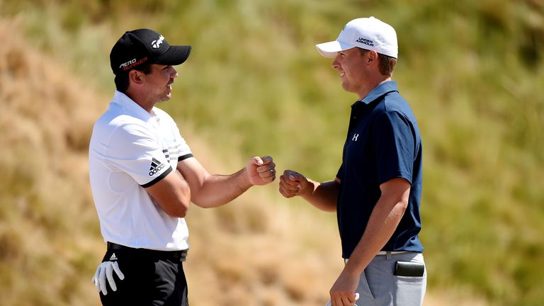 Spieth and Jason Day (left) have dominated golf over the last six months