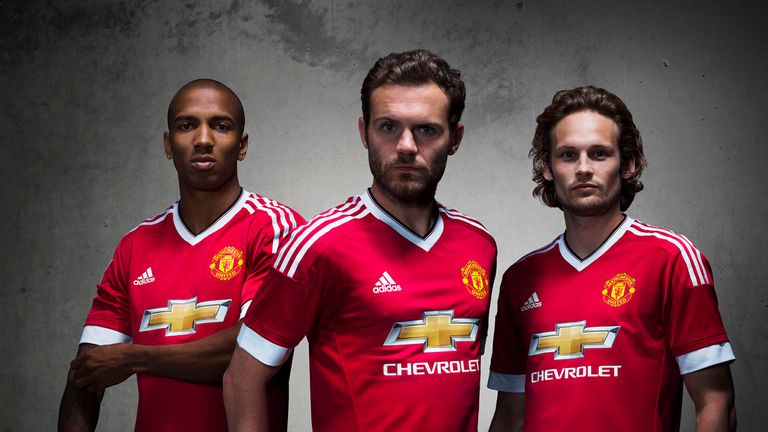 7a9d3d5ed1b Ashley Young (left), Juan Mata (middle) and Daley Blind (right